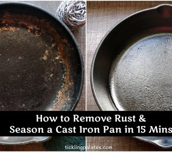 How to Remove Rust and Season a Cast Iron Pan