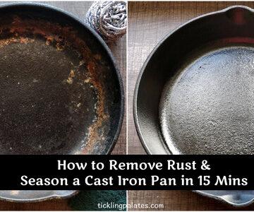 Restore Cast Iron Pan