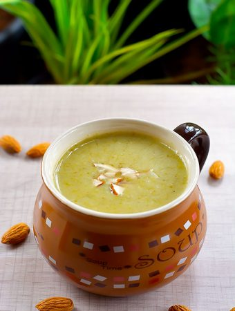 broccoli almond soup recipe
