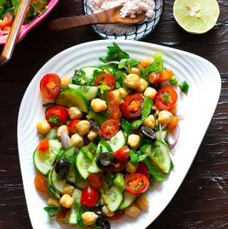 mediterranean chickpea salad recipe