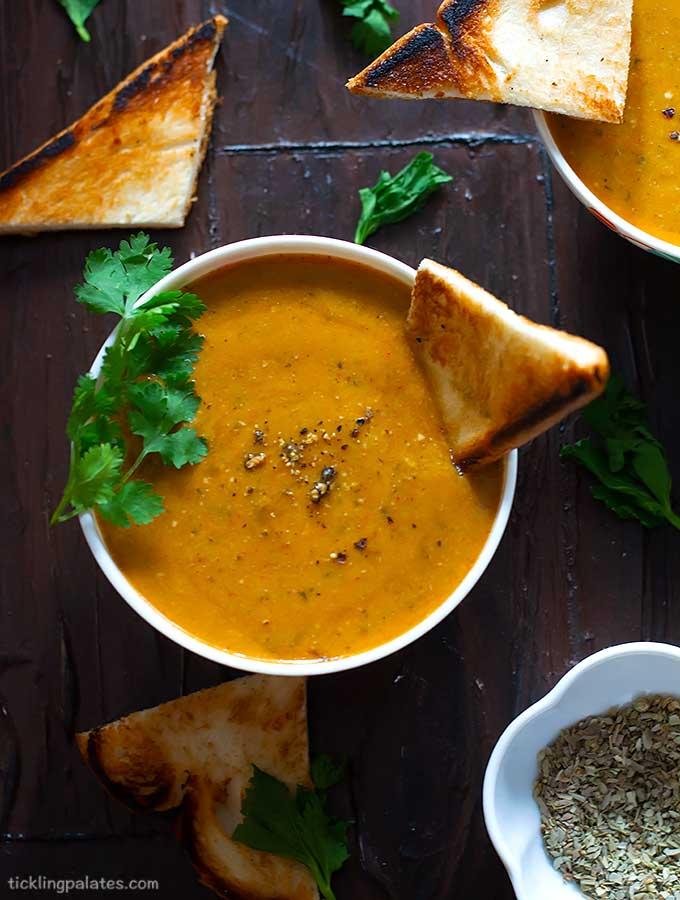 tomato celery soup recipe