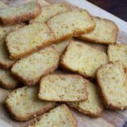 Eggless Orange Sponge Cake - No Butter Cake Recipe