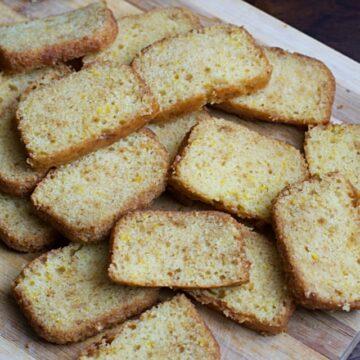 Eggless Orange Sponge Cake