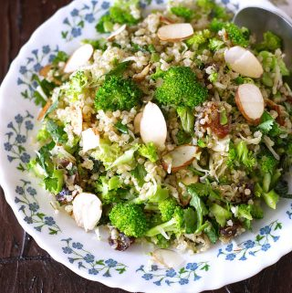 Quinoa Broccoli Salad Recipe