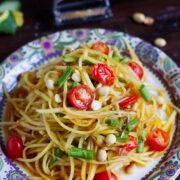Vegan Thai Green Papaya Salad Recipe (Som Tam)