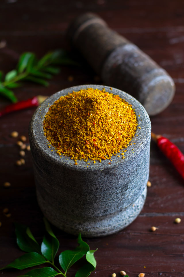 homemade Rasam Powder