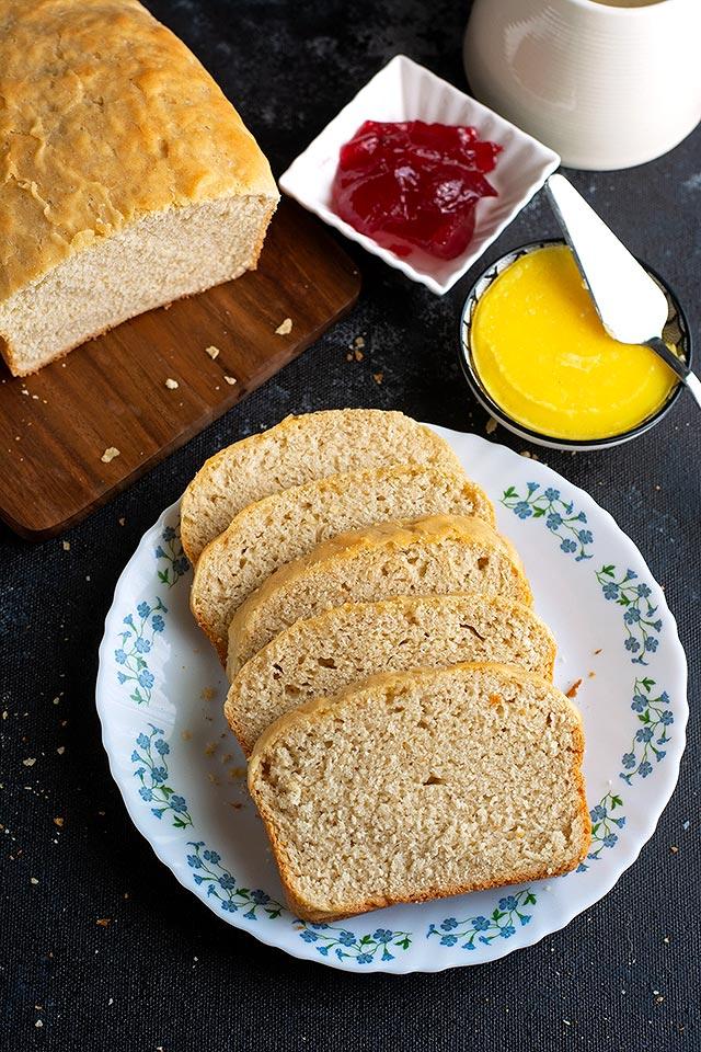 no knead sandwich bread recipe