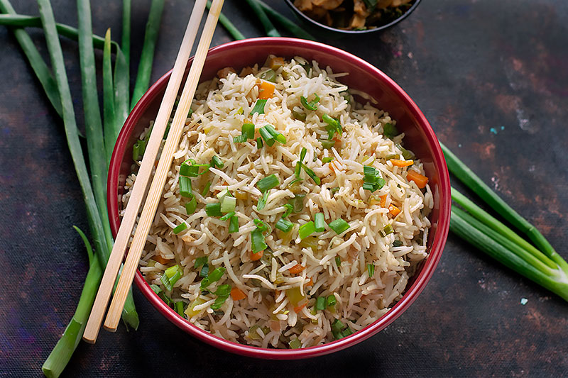 Veg Fried Rice Vegetable Fried Rice Video Tickling Palates