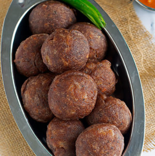 paniyaram using ragi flour