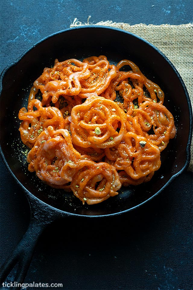 sourdough jalebi recipe