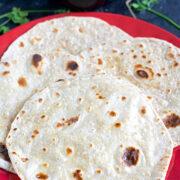 Sourdough Chapathi - Sourdough Roti or Tortilla