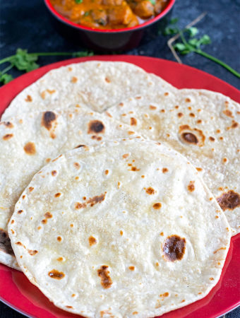 sourdough roti recipe