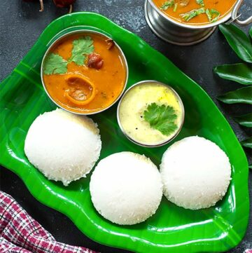 Soft Spongy Idli Recipe