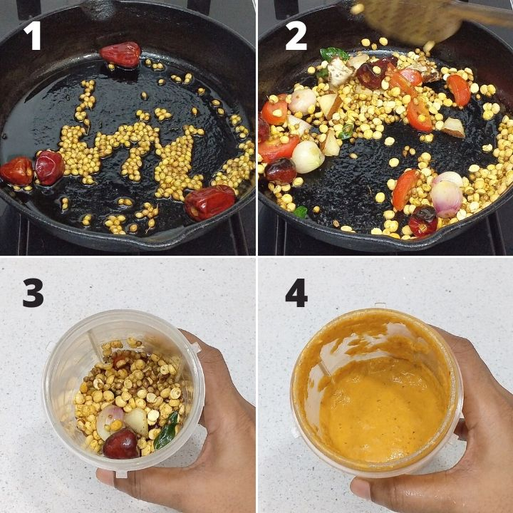 instant sambar for idli
