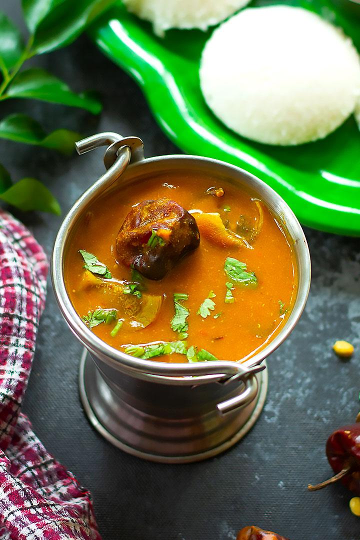 instant sambar recipe
