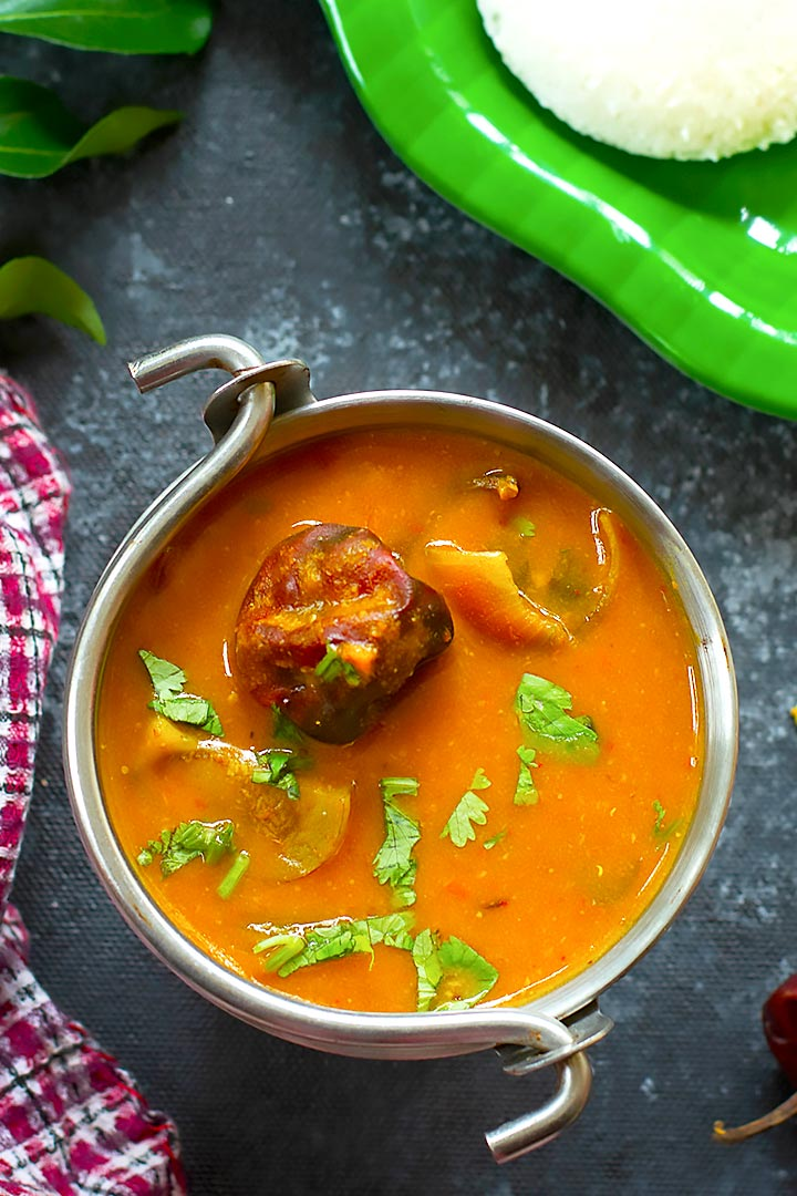 instant sambar without dal