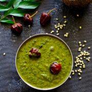 Keerai Molagootal - Spinach Lentil Curry + Video