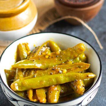 kerala green chilli pickle