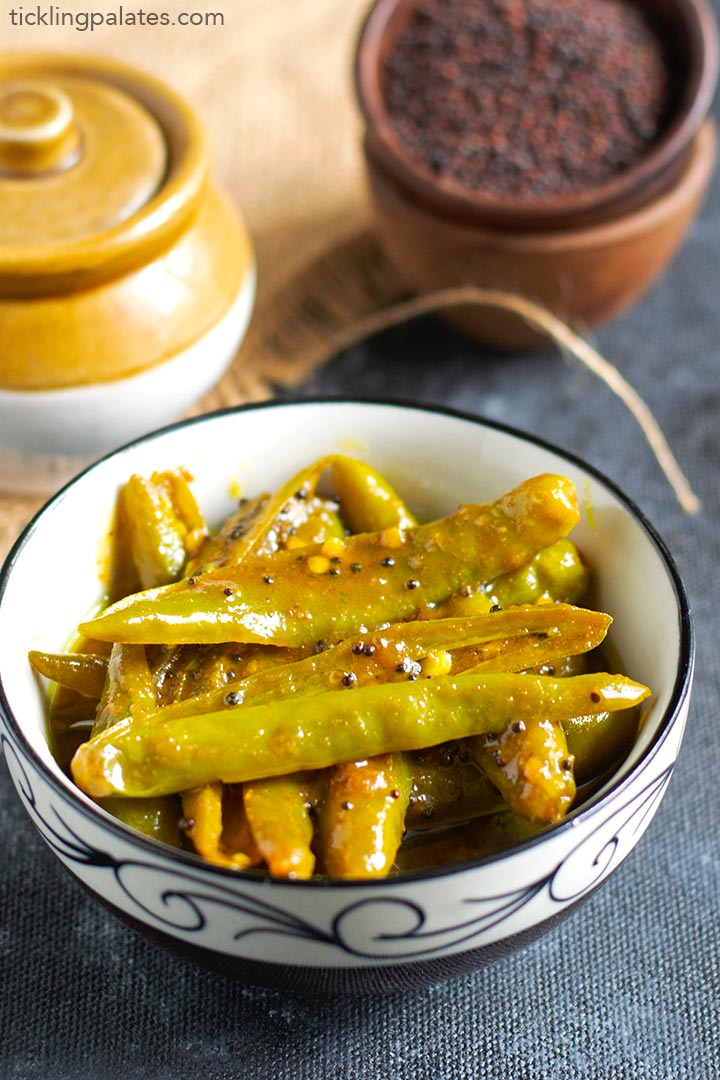 kerala green chilli pickle