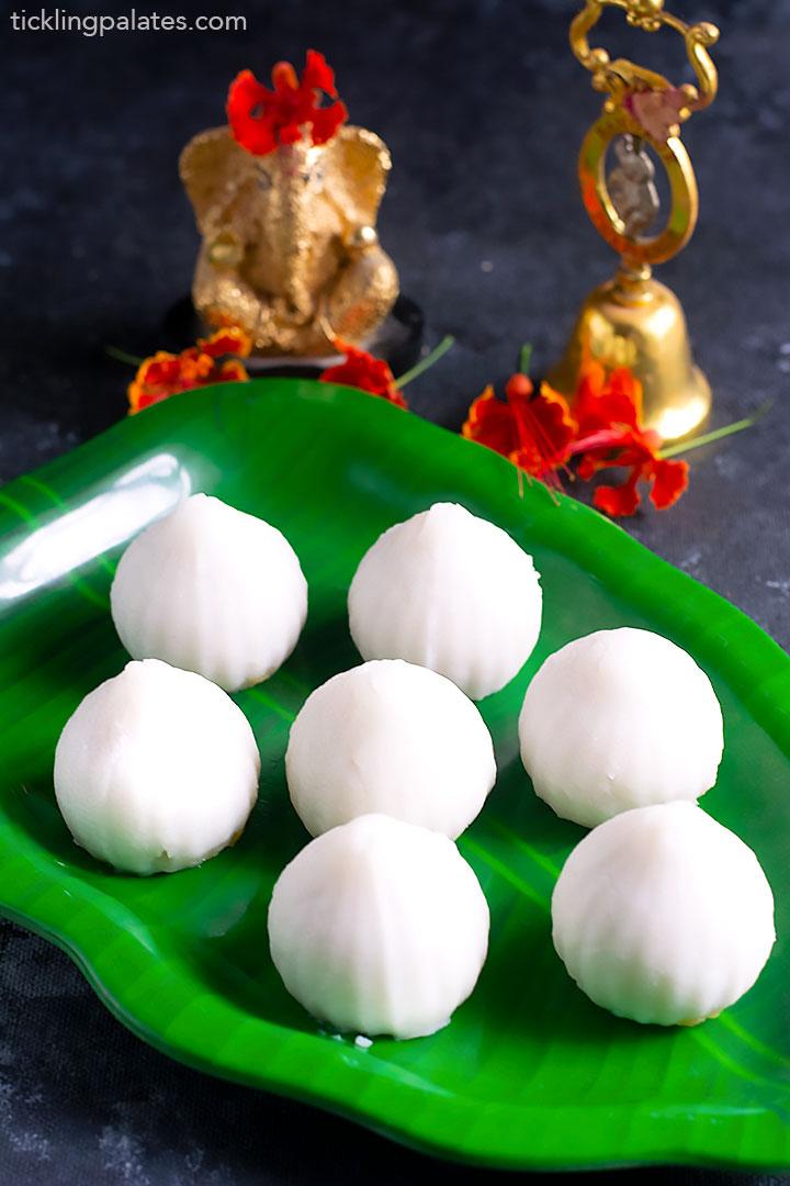 modakam with chana dal stuffing