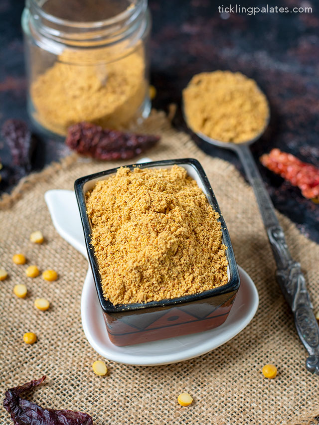 Sundal Podi recipe