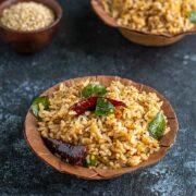 Ellu Sadam Recipe - Sesame Rice + Video