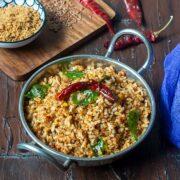 Flax Seeds Rice Recipe + Video