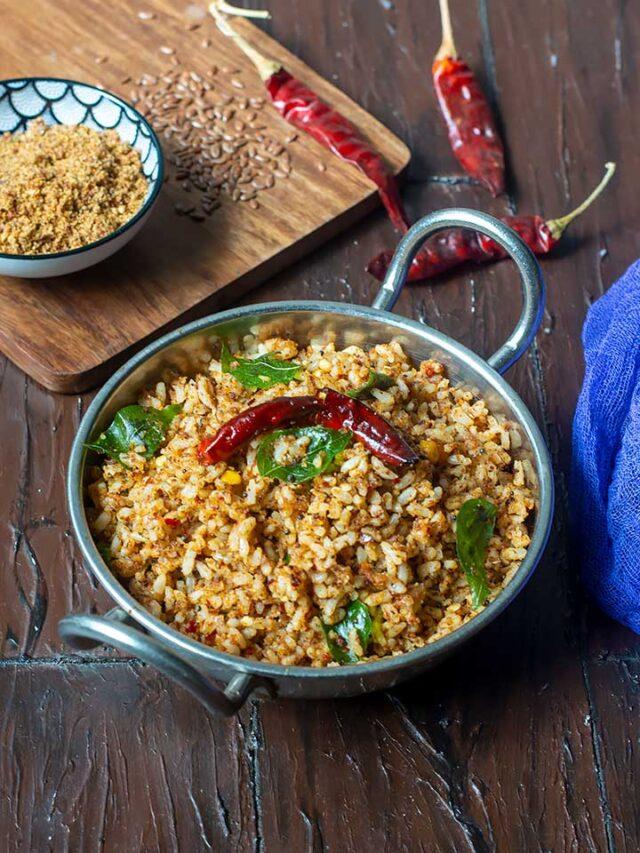 flax seeds rice recipe