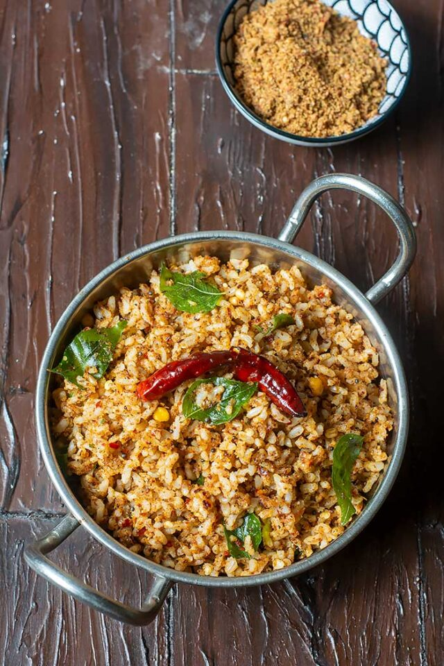 flax seeds rice using brown rice