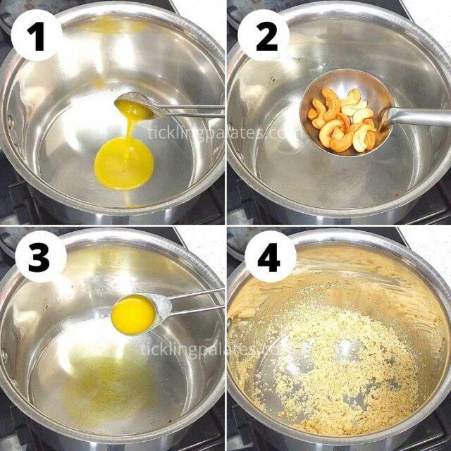 how to make rava payasam