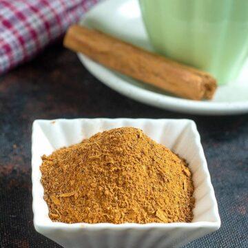 easy chai masala powder recipe