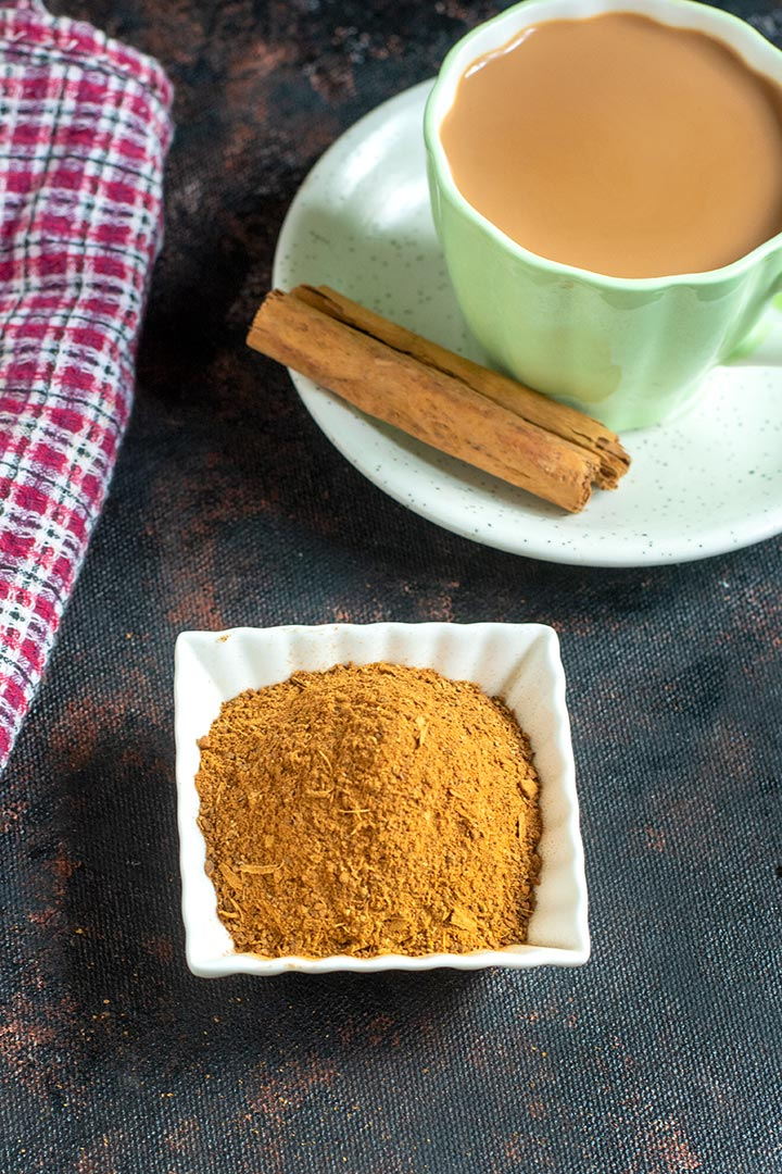 homemade chai masala powder