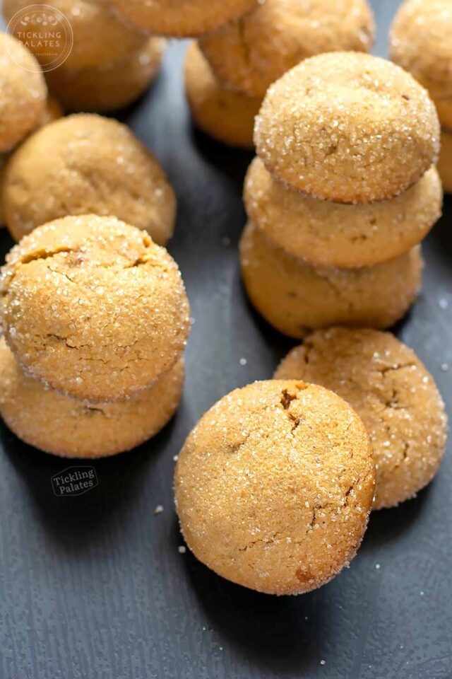 eggless gingerbread cookies without molasses