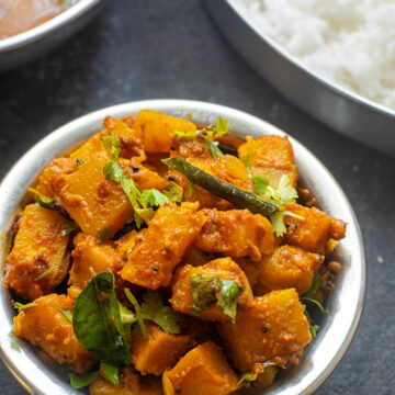 yellow pumpkin curry recipe
