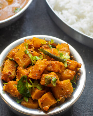 yellow pumpkin curry recipe