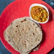 Gluten Free Multigrain Roti or Chapati + Video