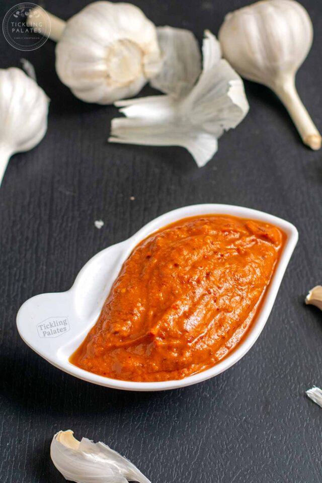 garlic thuvayal