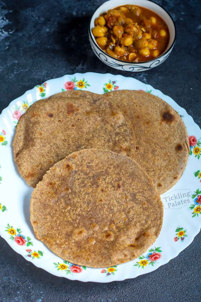 how to make soft millet chapati