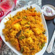 Easy Instant Pot Vegetable Biryani Recipe