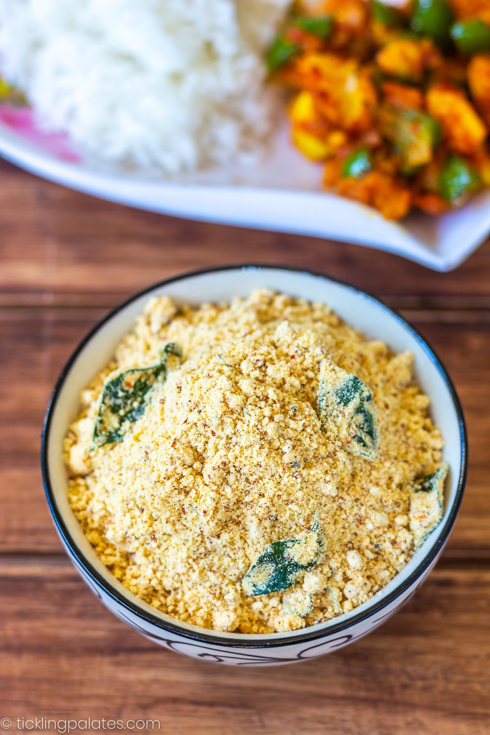 dal powder for rice
