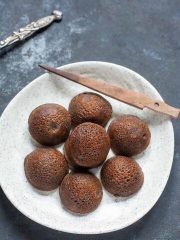 instant ragi sweet appam